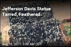 Confederate Statue Tarred, Feathered in Arizona
