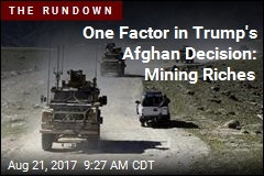 One Factor in Afghan Decision: Mining Riches