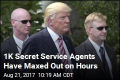The Secret Service Has a Money Problem