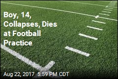 Boy, 14, Collapses, Dies at Football Practice
