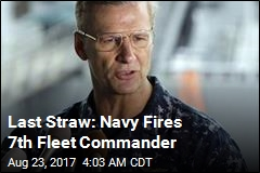 Navy Dismisses 7th Fleet Commander After Accidents