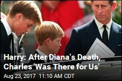 Harry, William Remember First Days After Diana's Death