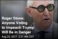 Roger Stone: Trump Impeachment Would Cause Civil War