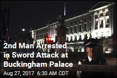 2nd Man Arrested in Sword Attack at Buckingham Palace
