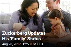 Zuckerberg Updates His 'Family' Status