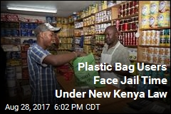 Plastic Bag Users Face Jail Time Under New Kenya Law