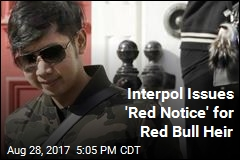 Interpol Issues 'Red Notice' for Red Bull Heir