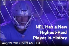 NFL Has a New Highest-Paid Player in History