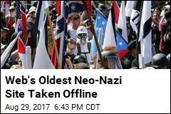 Web's Oldest Neo-Nazi Site Taken Offline