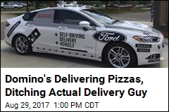 Domino's Testing Deliveries With Driverless Cars