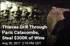 The Dead Bear Witness to $300K Wine Heist in Paris Catacombs
