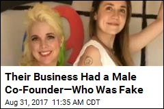Their Business Had a Male Co-Founder—Who Was Fake