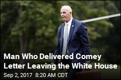 Report: Man Trump Sent to Fire Comey Is Quitting