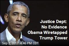 Court Filing: No Basis for Trump's Claim Obama Wiretapped Him