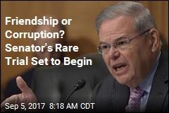 Friendship or Corruption? Senator's Rare Trial Set to Begin