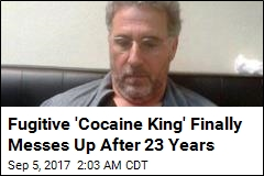Fugitive 'Cocaine King' Blunders After 23 Years