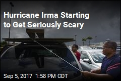 Hurricane Irma Starting to Get Seriously Scary