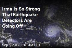 Hurricane Irma Is Setting Off Earthquake Detectors