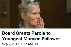 Board Grants Parole to Youngest Manson Follower