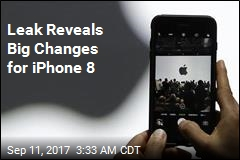 Leak Reveals Big Changes for iPhone 8