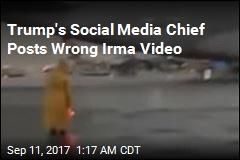 Trump's Social Media Chief Tweets Wrong Storm Video