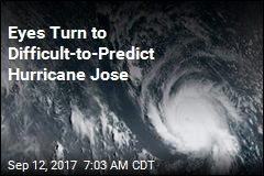 Eyes Turn to Difficult-to-Predict Hurricane Jose