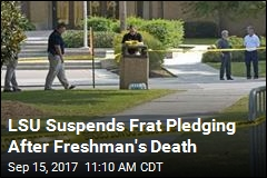Hazing Allegations Surround Frat Pledge's Death at LSU