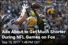 Ads About to Get Much Shorter During NFL Games on Fox