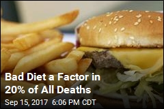 Eating Poorly a Factor in 1 in Every 5 Deaths Worldwide