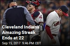 Cleveland Indians' Amazing Streak Ends at 22