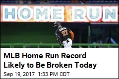 MLB Home Run Record Likely to Be Broken Today