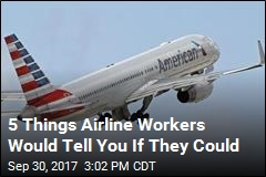 5 Things Airline Workers Would Tell You If They Could