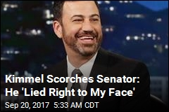 Kimmel Calls Senator a Liar Over 'Jimmy Kimmel Test'