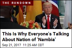 New Nation in the News: Nambia. Sort Of