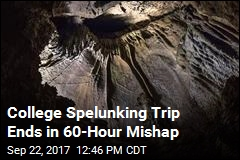 College Student Gets Trapped in Indiana Cave for 60 Hours