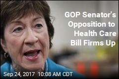 Collins: 'Very Difficult' to See Voting for GOP Health Care Bill