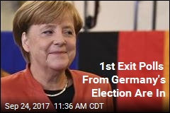 Polls: Merkel Expected to Win 4th Term in German Election