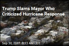 Trump Lashes Out at Puerto Rico Officals