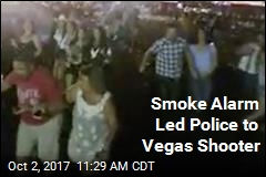 Smoke Alarm Led Police to Vegas Shooter