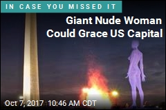 Giant Nude Woman Could Grace US Capital