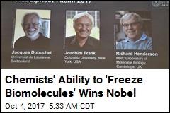 Groundbreaking Work on Biomolecules Earns Nobel