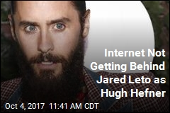 Internet Not Getting Behind Jared Leto as Hugh Hefner