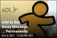 AIM to Set Away Message ... Permanently