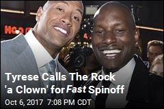 Tyrese Calls The Rock 'a Clown' for Fast Spinoff