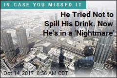He Tried Not to Spill His Drink. Now He's in a 'Nightmare'