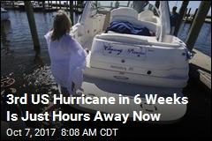 3rd US Hurricane in 6 Weeks Is Just Hours Away Now