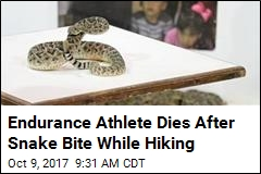 Endurance Athlete Dies After Snake Bite While Hiking