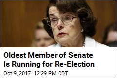 Oldest Member of Senate Is Running for Re-Election