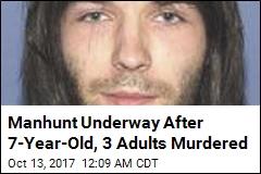 Boy's Body Found Hidden After 3 Adults Slain