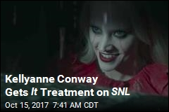 Kellyanne Conway Gets It Treatment on SNL